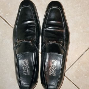 Ferragamo dress shoes- great shape!